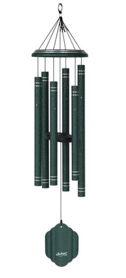 QMT Arabesque Emerald Windchime 36