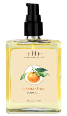 FHF Body Oil, Clementine