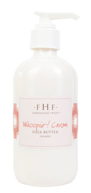 FHF Shea Butter Body Lotion, Whoopie Cream