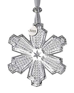 Waterford 2020 Snowcrystal Ornament