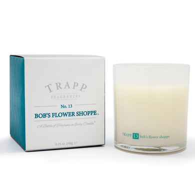 Trapp Bob's Flower shop Candle, 8.75 oz Lg Ambiance