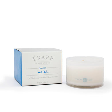 Trapp Water Candle, 3.75 oz Ambiance