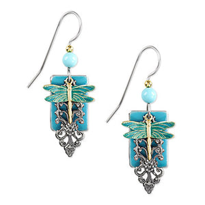 SF Dragonfly Turquoise Earring