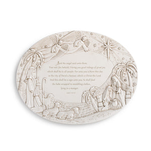 Nativity Serving Platter