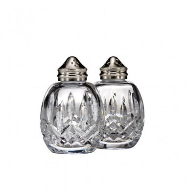 Waterford Round Salt & Pepper