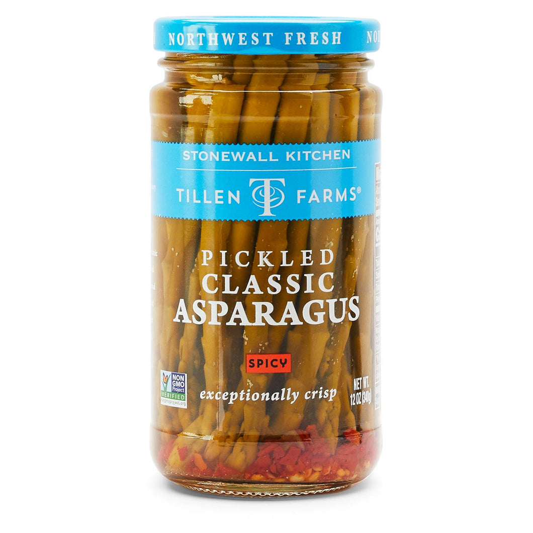 Stonewall Kitchen Classic Pickled Asparagus, Spicy