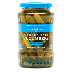 Stonewall Kitchen Pickled Baby Cucumbers