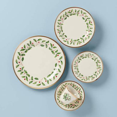 Lenox Holiday 5 pc Place Setting