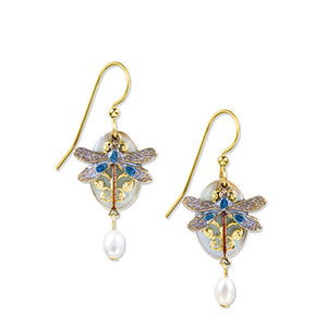 SF Dragonfly Pearl Earring