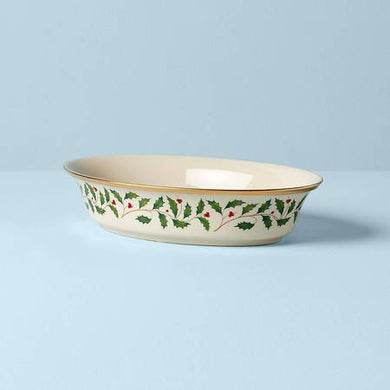 Lenox Holiday 34 oz Open Vegetable Bowl