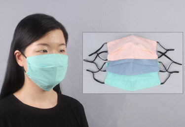 Filter Fabric Mask, Solids (Use Drop Down Menu For Color Choices)