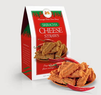 MCSF - Sriracha Cheese Straw, 6.5 oz Box
