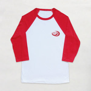 SSC - Contrast Sleeve Tshirt - Red