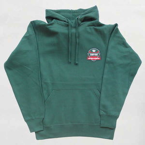 Empire Customs Automotive - Bottle Green Hooded Sweatshirt