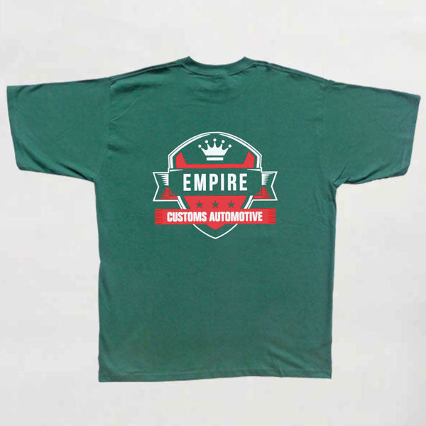 Empire Customs Automotive - T-Shirt Bottle Green