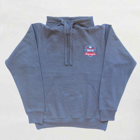 Empire Customs Automotive - Grey Hooded Sweatshirt
