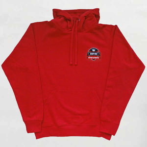 Empire Customs Automotive - Red Hooded Sweatshirt
