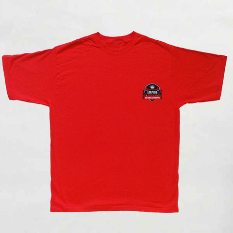 Empire Customs Automotive - T-Shirt Red