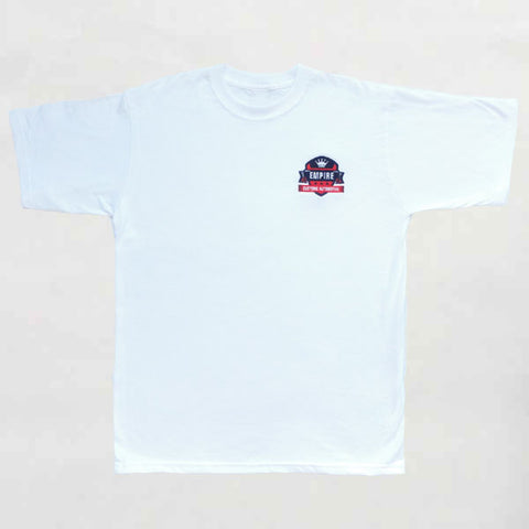 Empire Customs Automotive - T-Shirt White