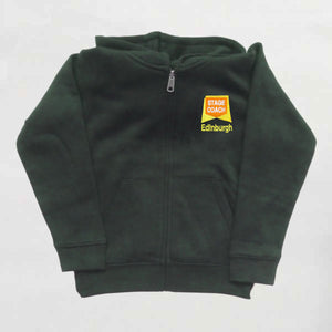 SPA EDINBURGH - Full Zip Childrens Hoodie