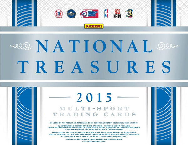 2015 National Treasures Collegiate Multi-Sport 4 Box Case Random Left Side Serial # Break #7 - CRAZY CHEAP!!