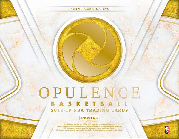 2018-19 Opulence Basketball 3 Box Case PYT Break #5
