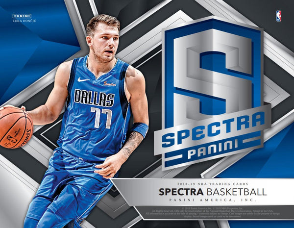 2018-19 Spectra Basketball 4 Box Half Case PYT Break #2