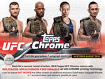 2018 Topps Chrome UFC 1 Personal Hobby Box