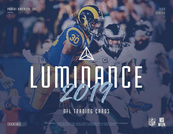 2019 Luminance Football 12 Box Case PYT Break #8