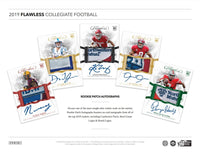 2019 Flawless Collegiate Football 2 Box Case PYT Break #14