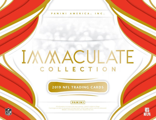 2019 Immaculate Football 6 Box Case PYT Break #15