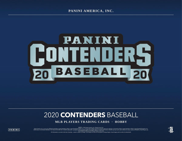 2020 Contenders Baseball 4 Box Random Teams Break #3