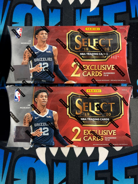 19/20 Select Basketball TMALL LUCKY ENVELOPE 2 Box Random Teams #5