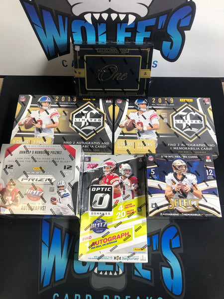 2019 Football 6 Box Mixer PYT #3