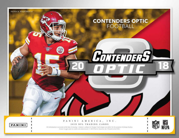 2018 Contenders Optic Football 10 Box Inner Case PYT Break #34