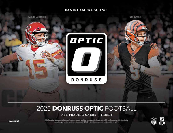 2020 Optic Football 2 Hobby Box PYT Break #3