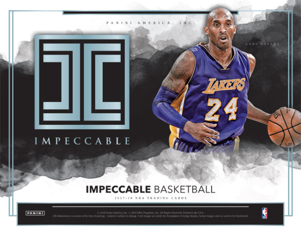 2017-18 Impeccable Basketball 3 Box Case PYT Break #5 + D. Fox Auto Kings Jersey RANDOMED TO THE BREAK!!!