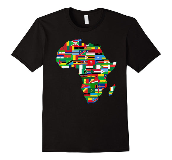 Africa Countries Flag T-Shirt