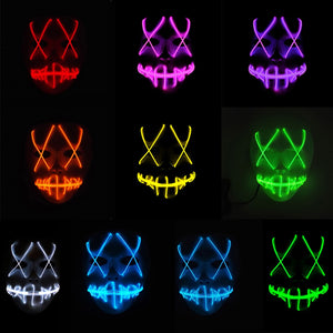 Halloween Masque LED Light