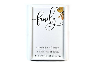 Crazy Loud Family Magnetic Picture Hanger