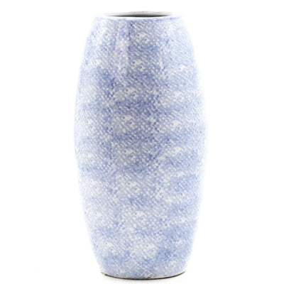 Short Light Blue Vase