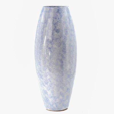 Tall Light Blue Vase