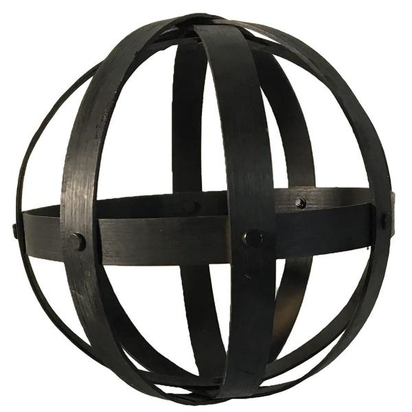"8"" Decorative Bamboo Orb"