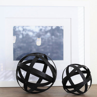 "6"" Decorative Bamboo Orb"