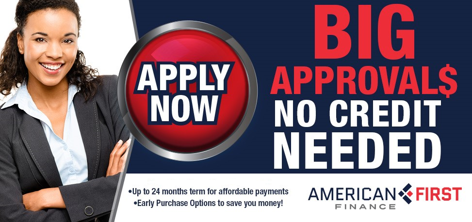 No Credit Needed Financing American First Furniture Financing