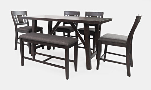 American Rustics 6 Pc. Counter Height Dining Set