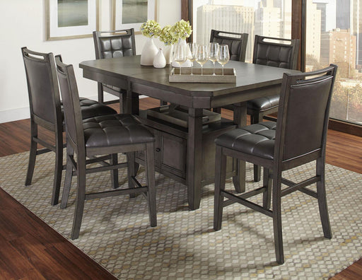 Manchester 7 Pc. Square Counter Height Dining Set