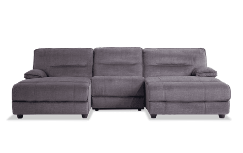 Pacifica 3 Pc. Power Reclining Sectional (Double Chaise)