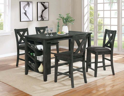 7896/7897 5 Pc. Counter Height Dining Set