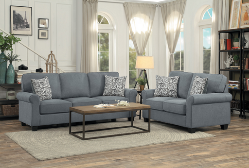 Selkirk Grey Living Room Collection